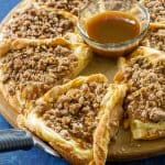 Apple Crisp Cheese Danish