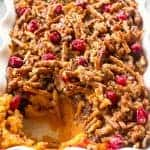 Pretzel Cranberry Sweet Potatoes