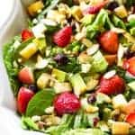 Fruit, Avocado, and Feta Salad