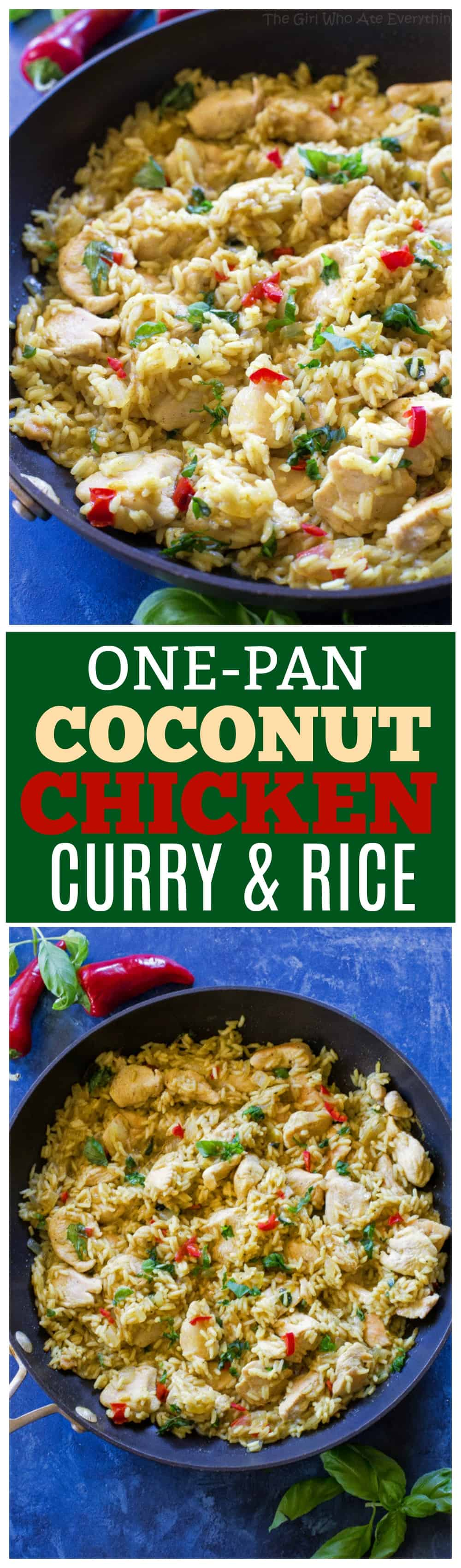 One-Pan Coconut Chicken Curry and Rice