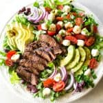 Caprese Steak Salad