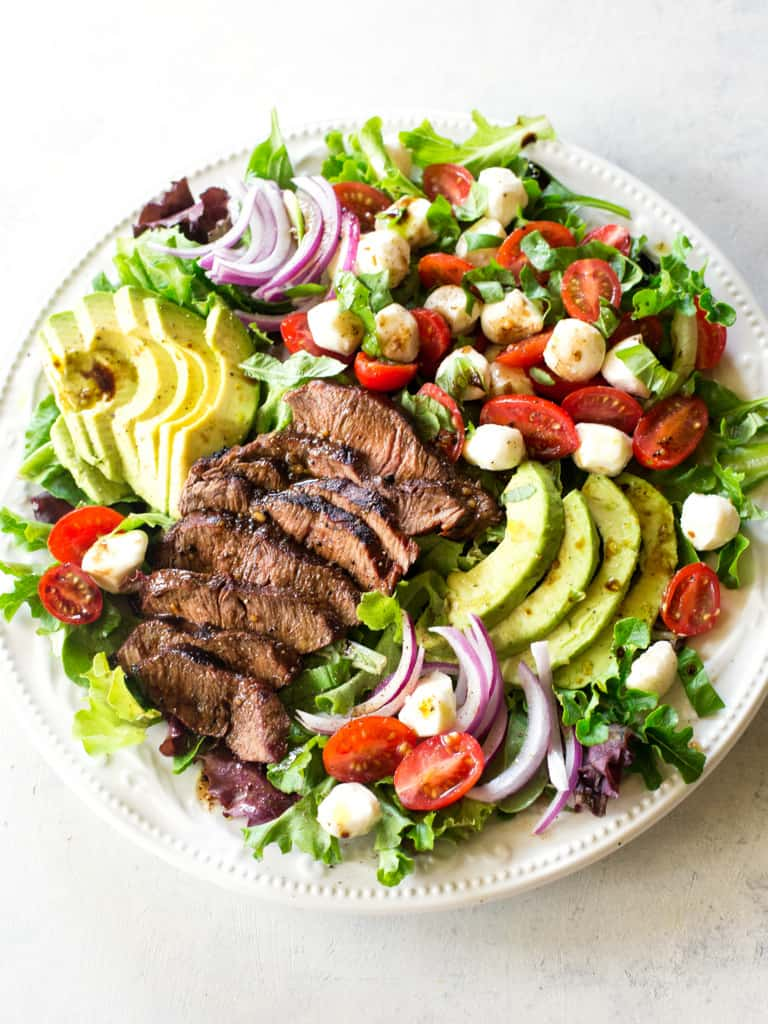 Caprese Steak Salad The Girl Who Ate Everything