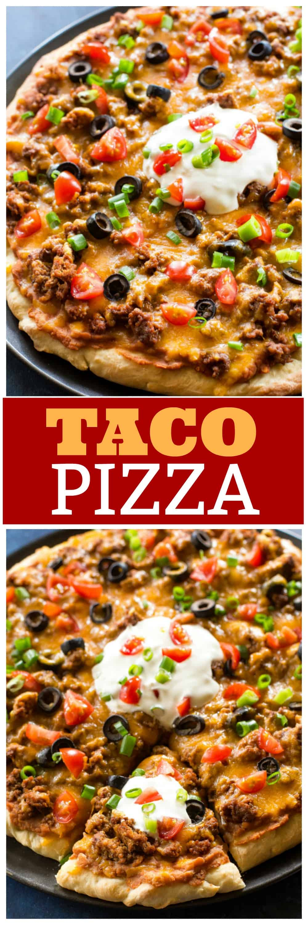 Taco Pizza Recipe The Girl Who Ate Everything