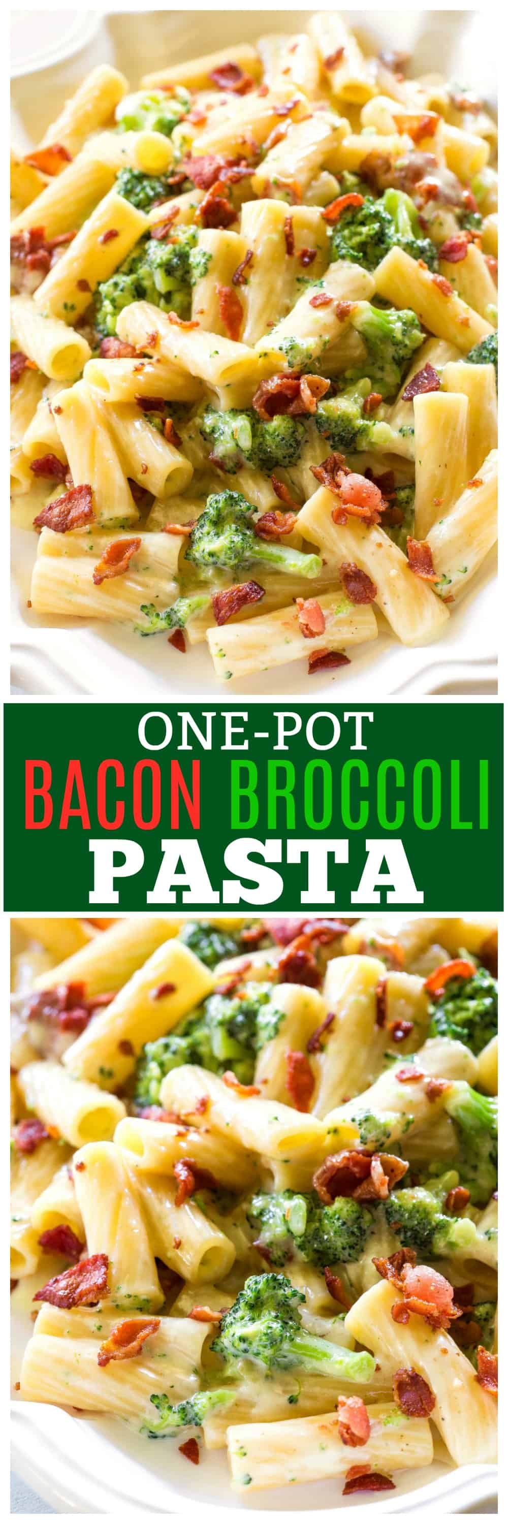 One-Pot Bacon Broccoli Pasta