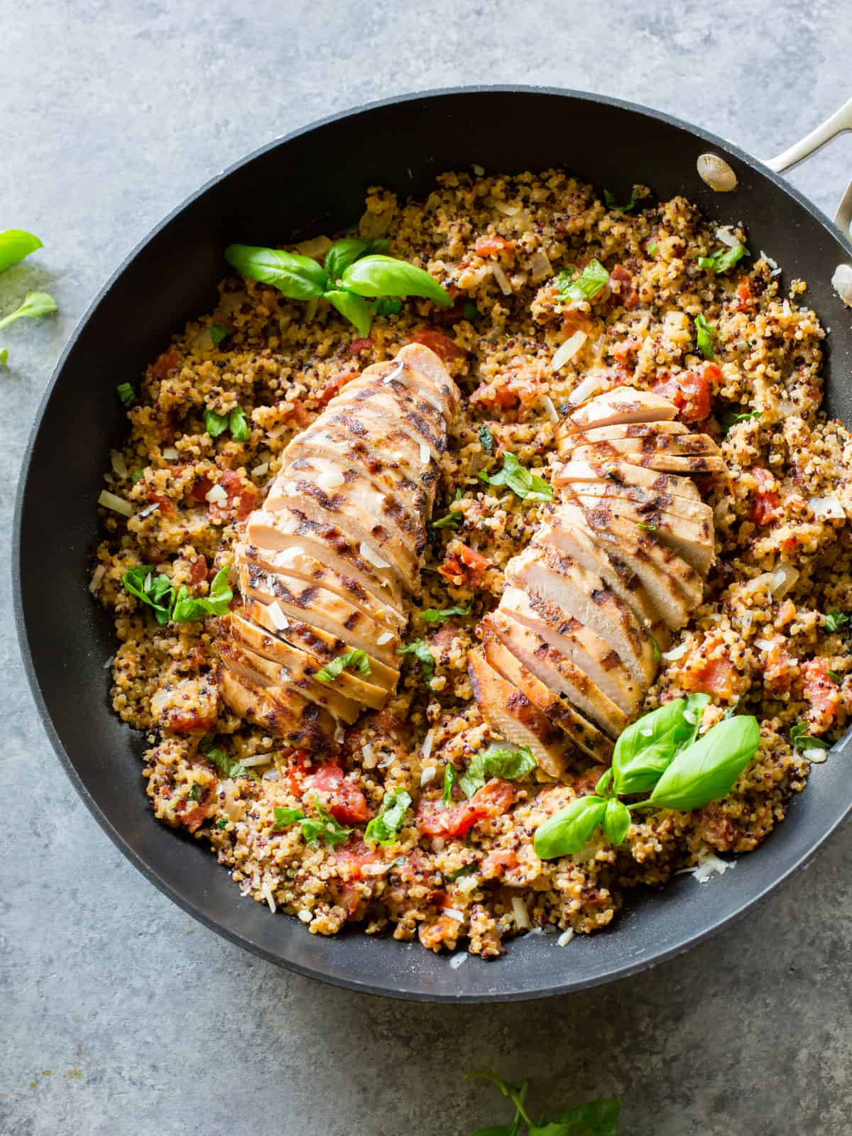 Tomato Bail Chicken Quinoa The Girl Who Ate Everything
