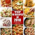 Top Ten Recipes of 2018