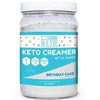 Kiss My Keto MCT Oil Birthday Cake Powder