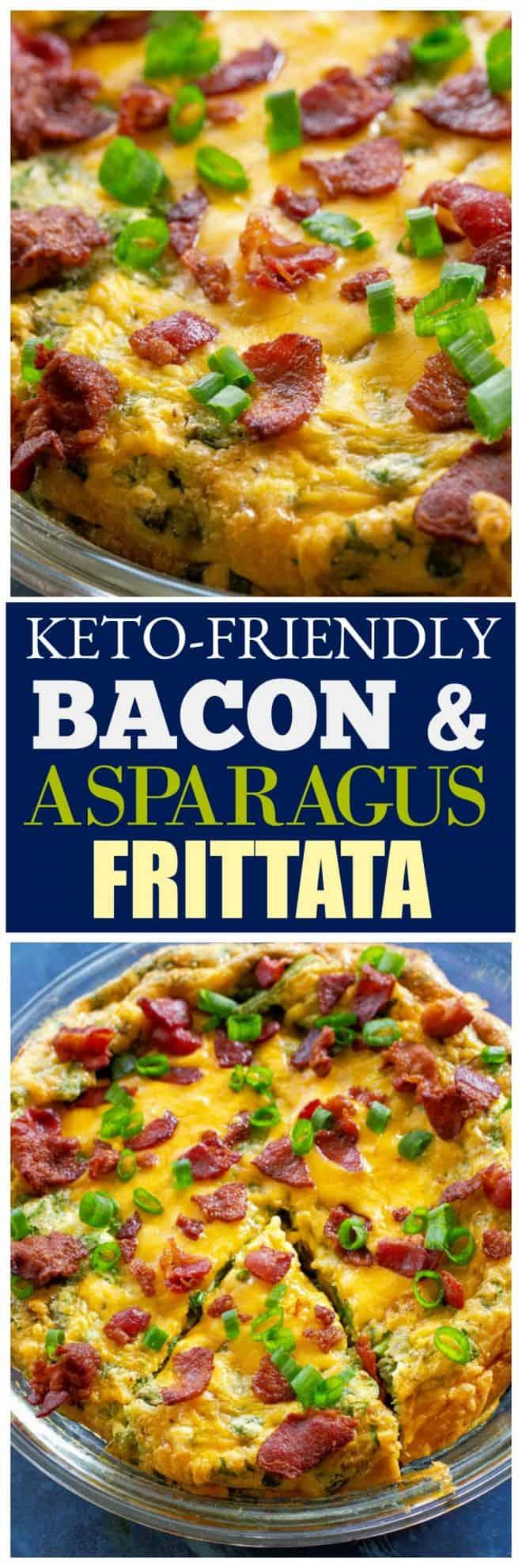Bacon Asparagus Frittata