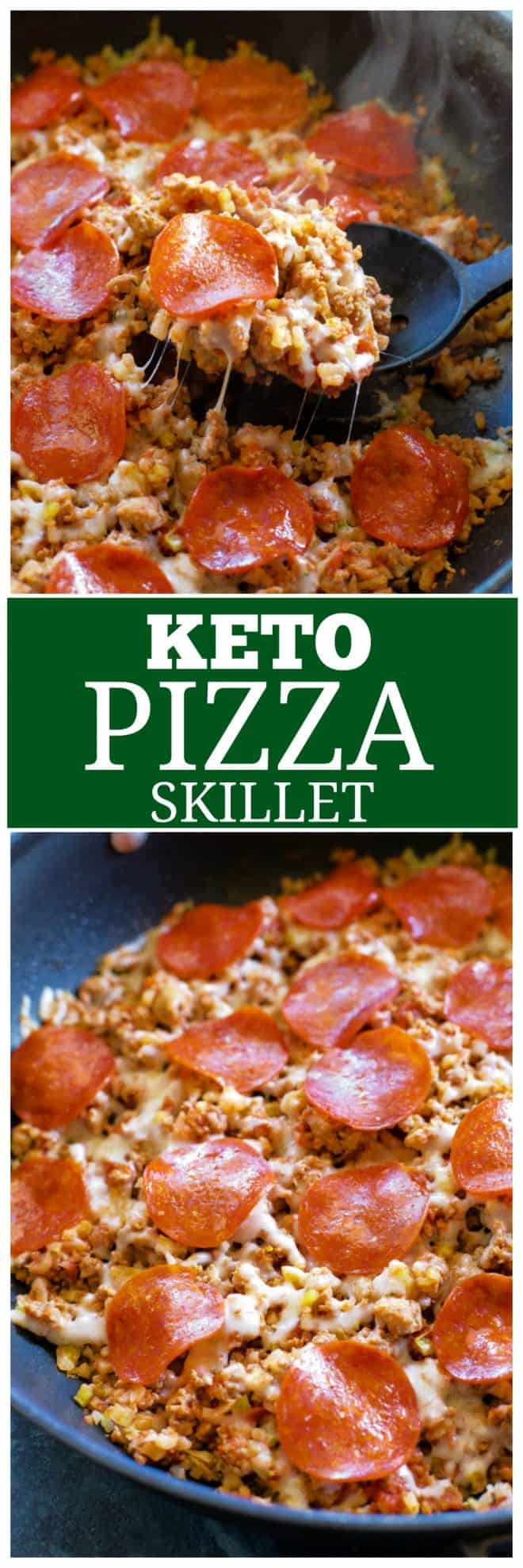 Keto Pizza Skillet
