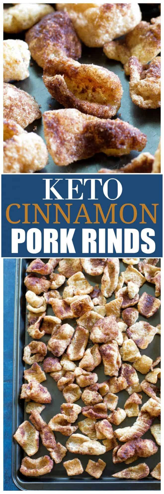 keto cinnamon pork rinds