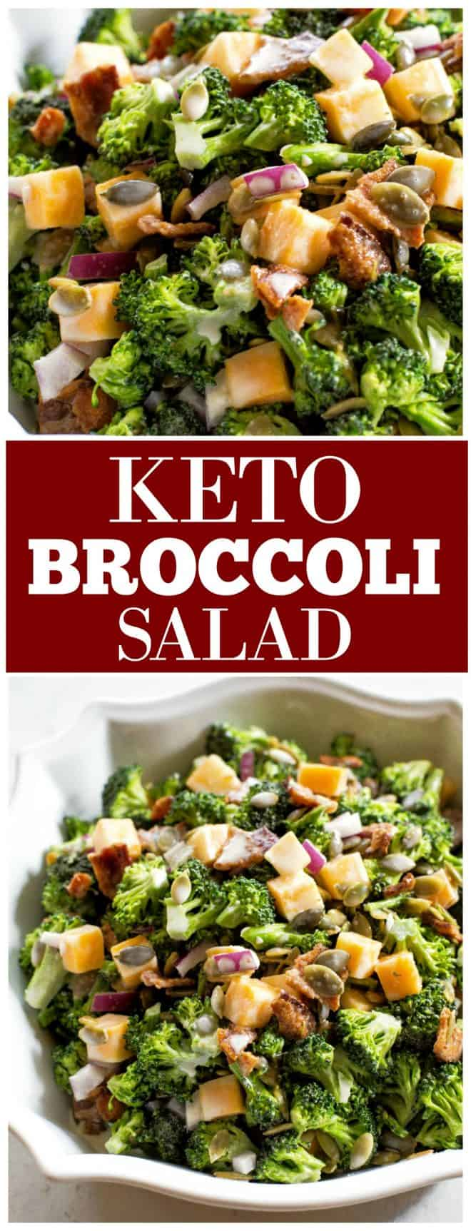Keto Broccoli Salad The Girl Who Ate Everything