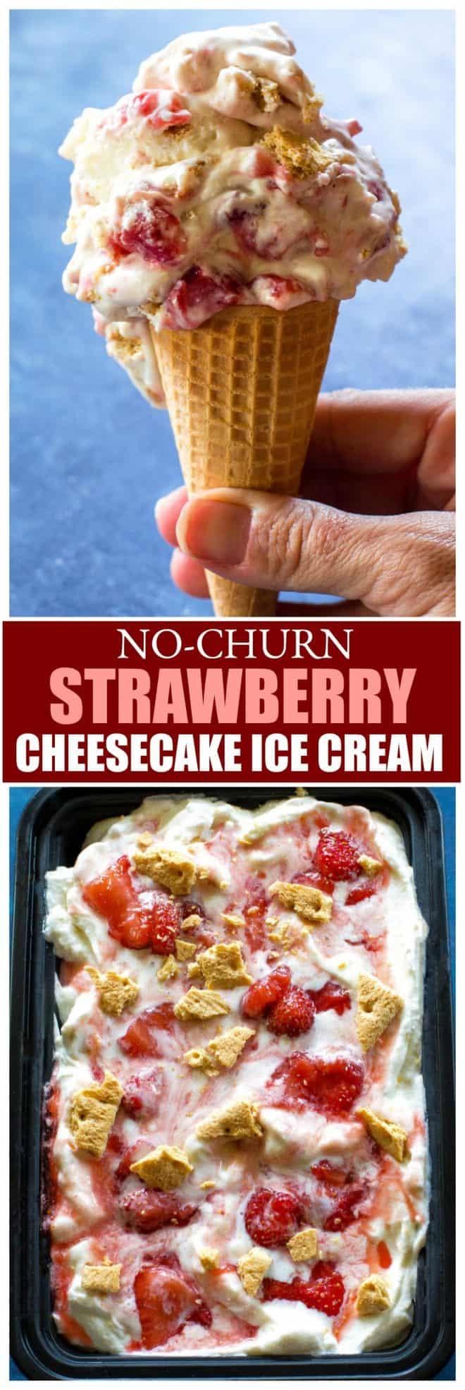 hurn Strawberry Cheesecake Ice Cream