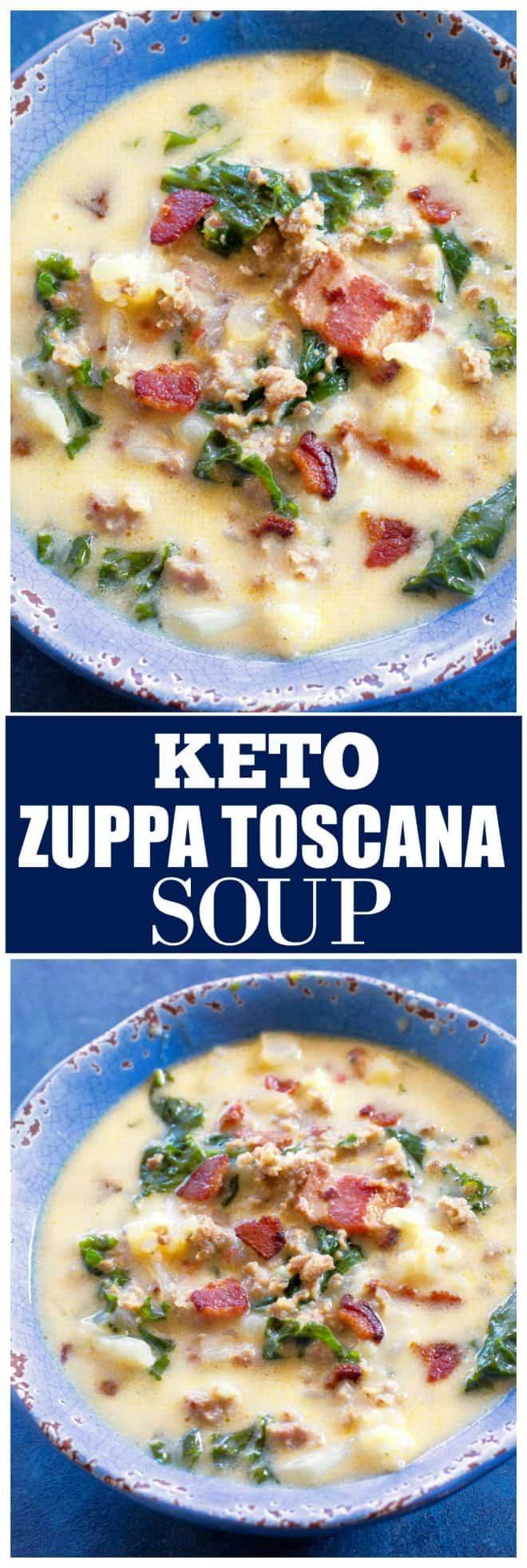Keto Zuppa Toscana