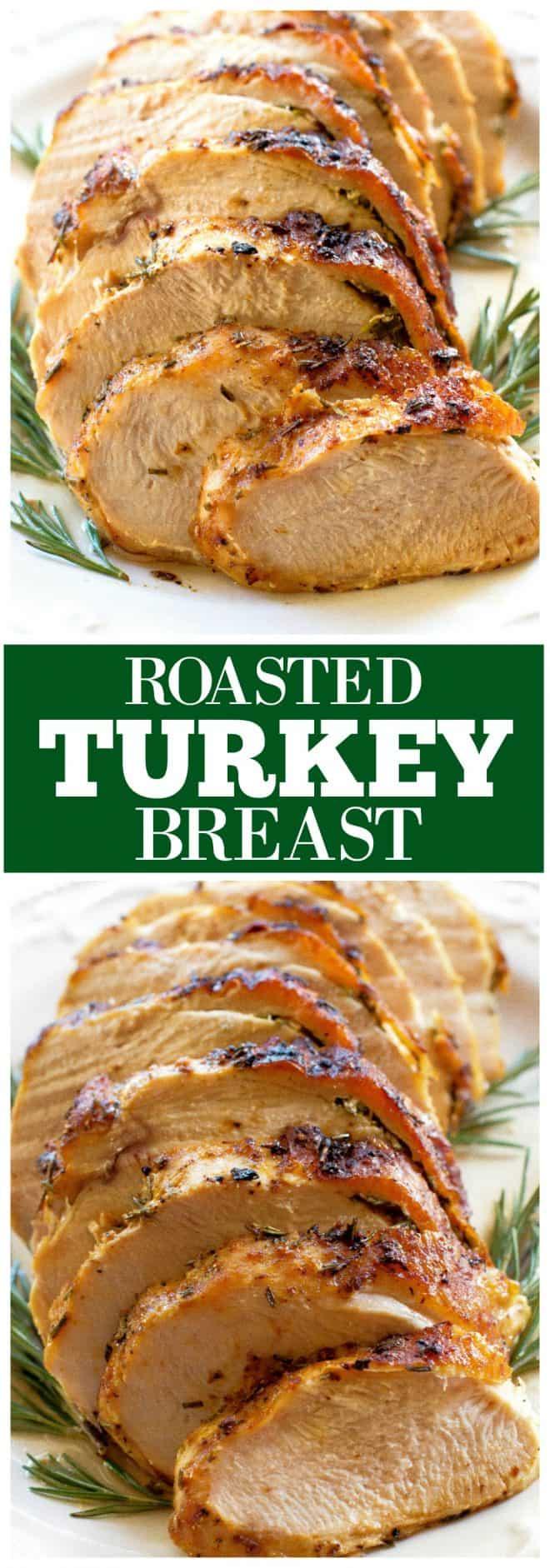 Rosemary Roasted Turkey Breast
