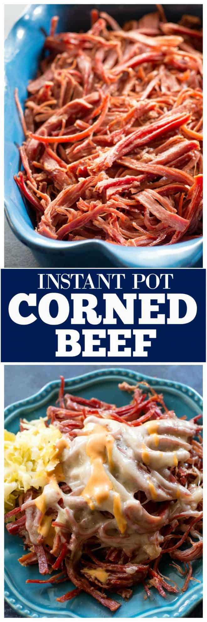 Instant Pot Corned Beef with sauerkraut