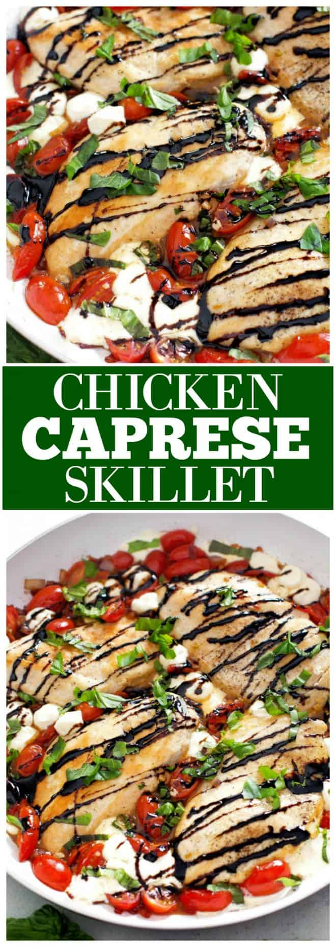 Caprese Chicken Skillet