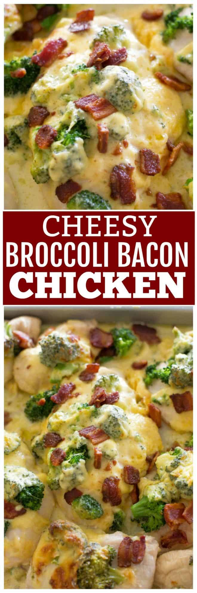 Cheesy Bacon Broccoli Chicken