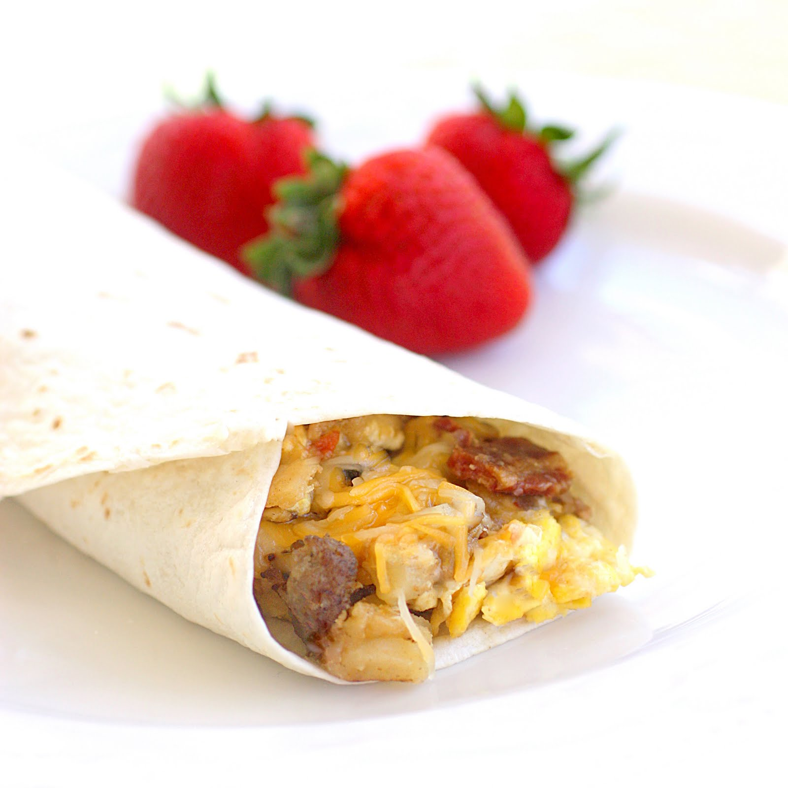 Sausage and Egg Breakfast Burritos