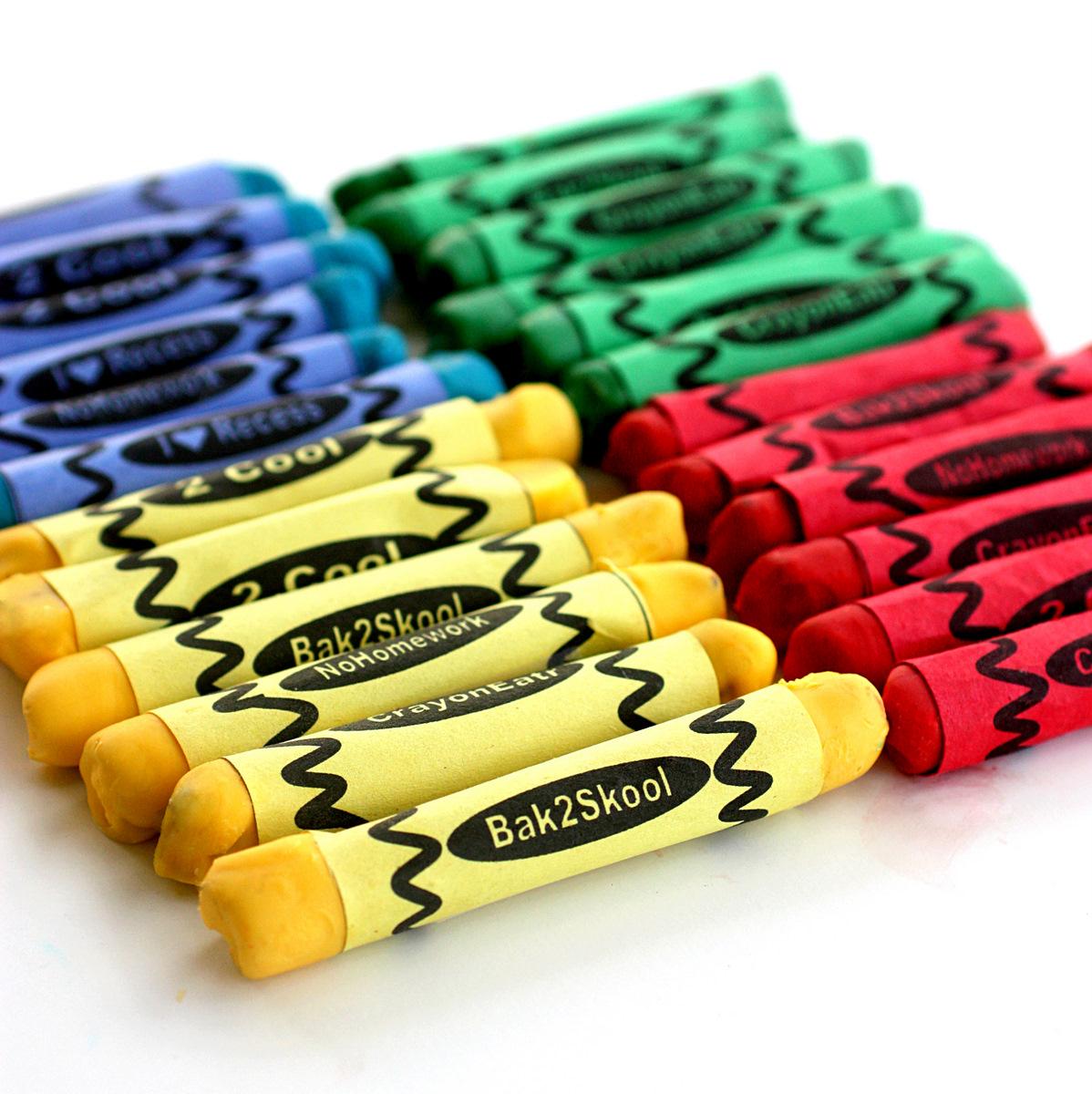 edible crayons for teacher appreciation week