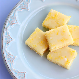 These Lemon Brownies are lemony, lemony, lemony. Topped with a lemon glaze and bursting with lemon flavor.