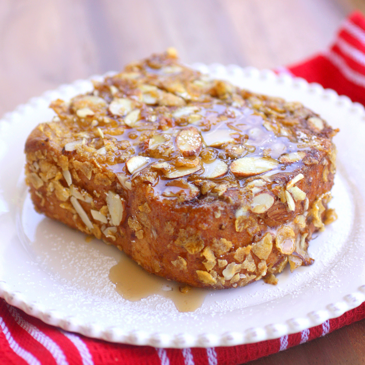 french toast pumpk i n french toast six french toast triangles ...
