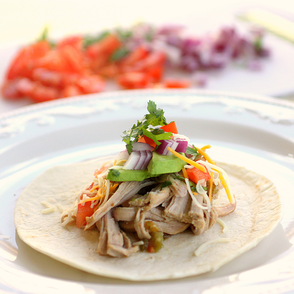 Easy Crockpot Pork Carnitas - The Girl Who Ate Everything