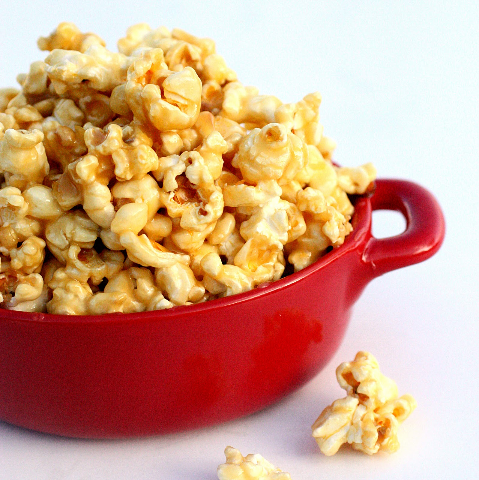 Tiffany's Soft Caramel Popcorn - The Girl Who Ate Everything