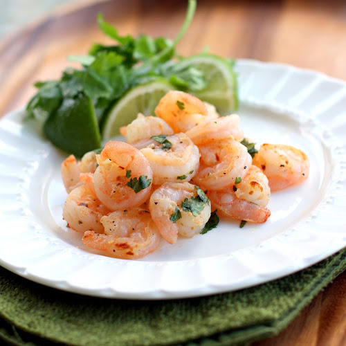 These Cilantro Lime Shrimp are easy, healthy recipe that is a quick Mexican dinner packed with protein.