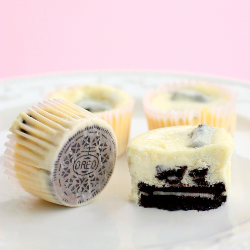 The Cookies and Cream Cheesecakes couldn't be any easier. Each one has ...