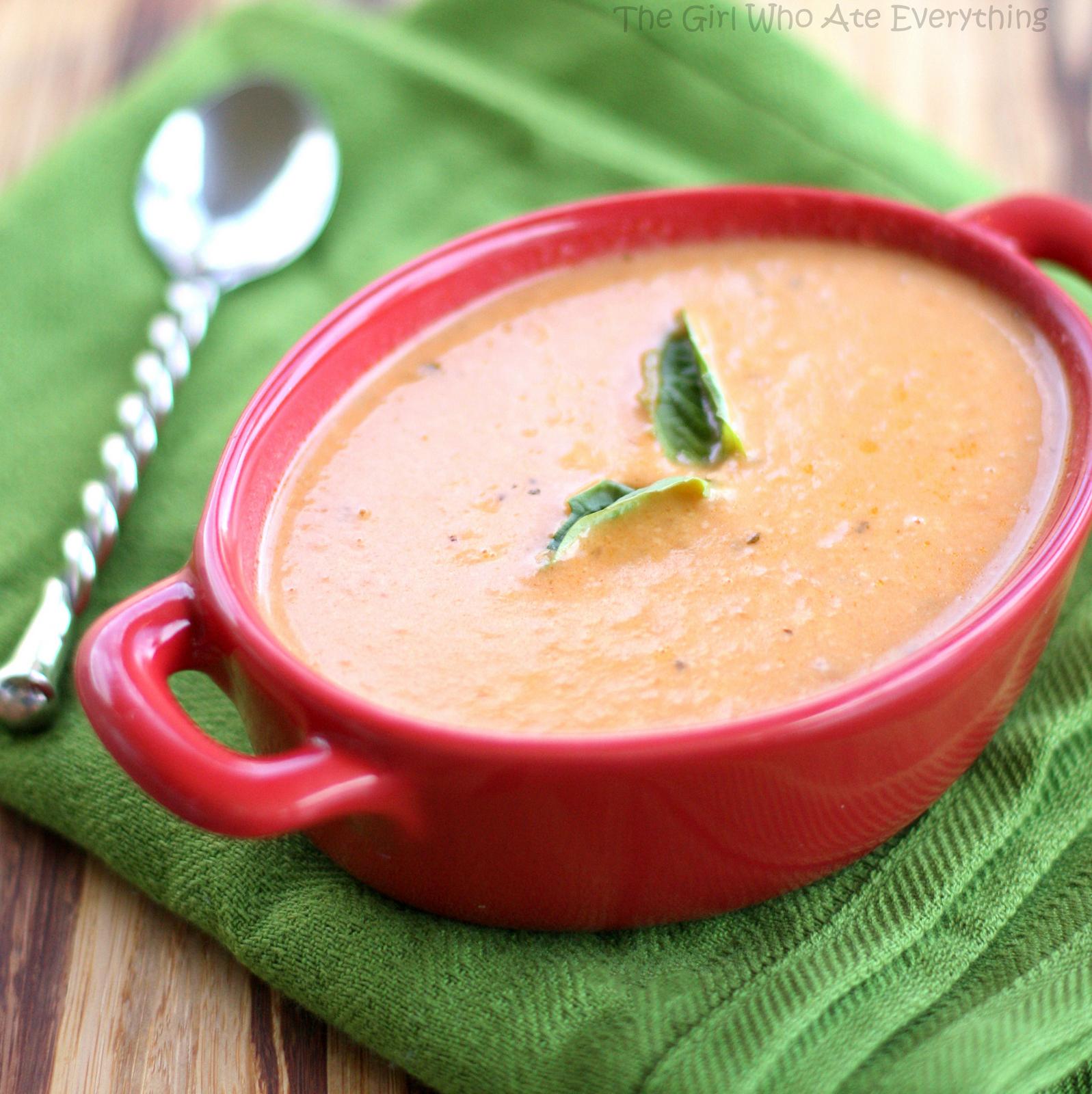 tomato basil soup tomato slow roasted tomato basil tomato basil soup ...