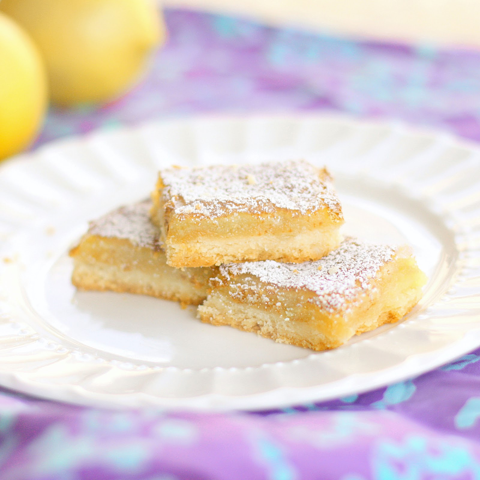 Lemon Bars Recipe — Dishmaps