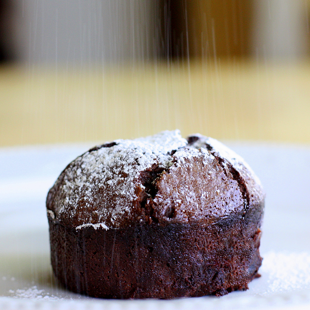 Roy's Chocolate Souffle (Molten Lava Cake)