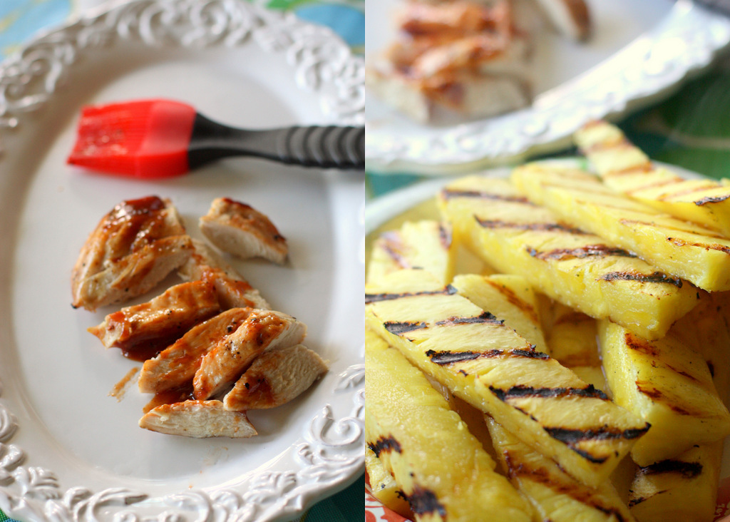Grilled pineapple is one of our favorite healthy desserts. The natural ...