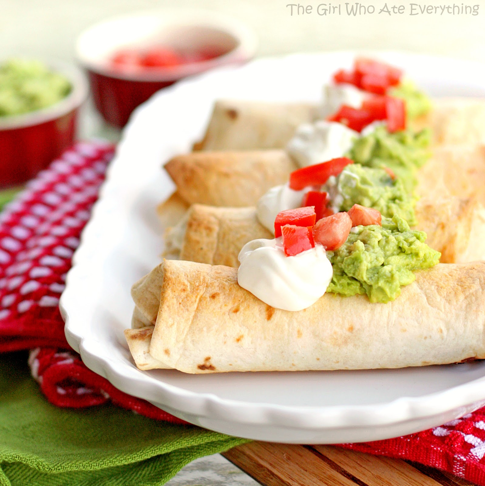 Mexican Food Chicken Chimichangas