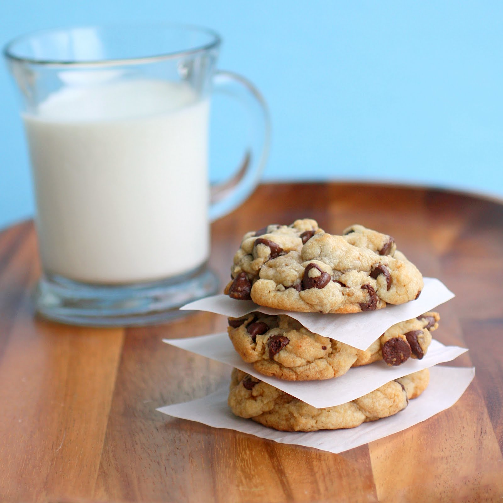 My Big, Fat, Chewy Chocolate Chip Cookie - The Girl Who ...