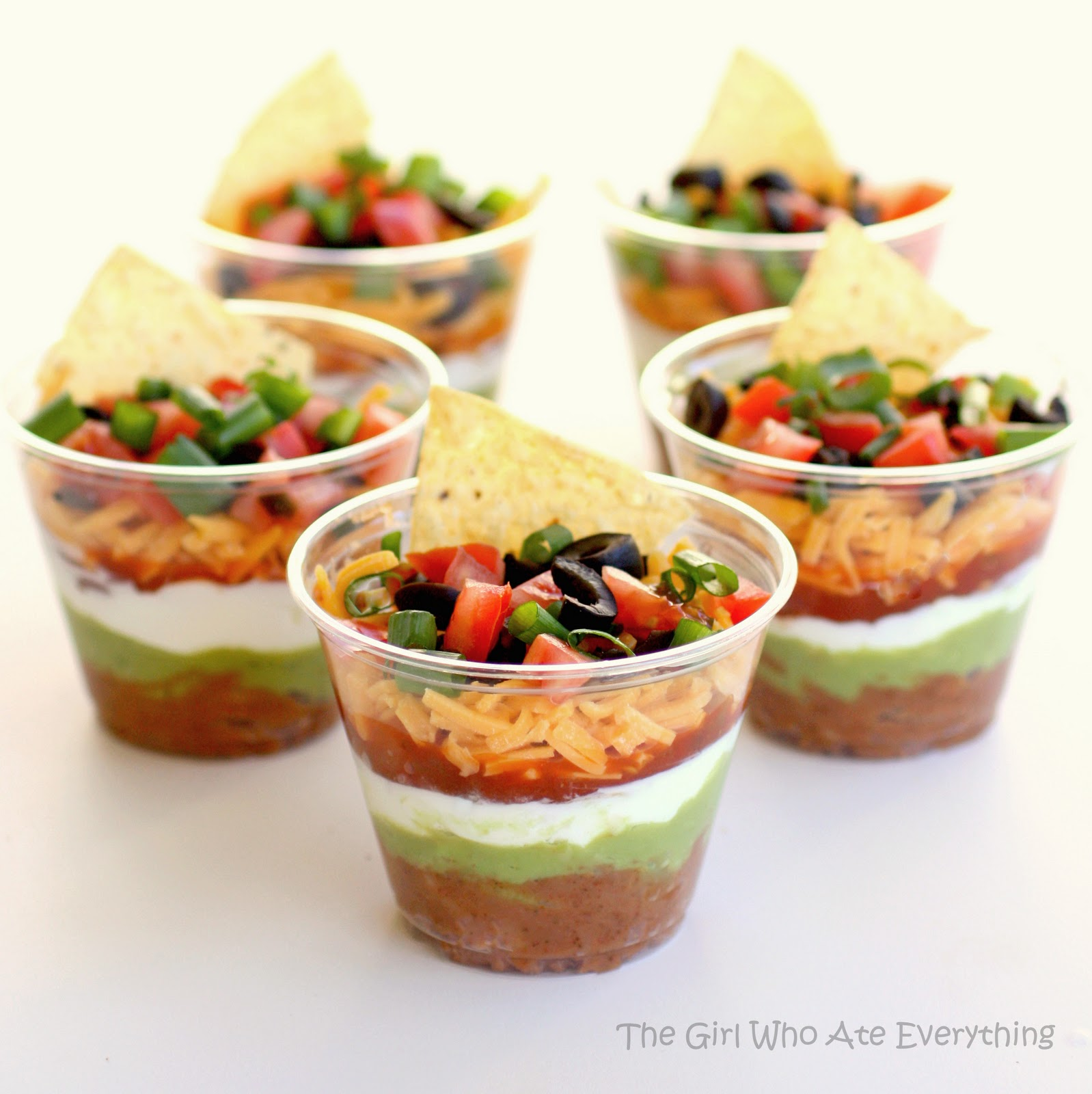 Seven Layer Dip Recipe Dishmaps