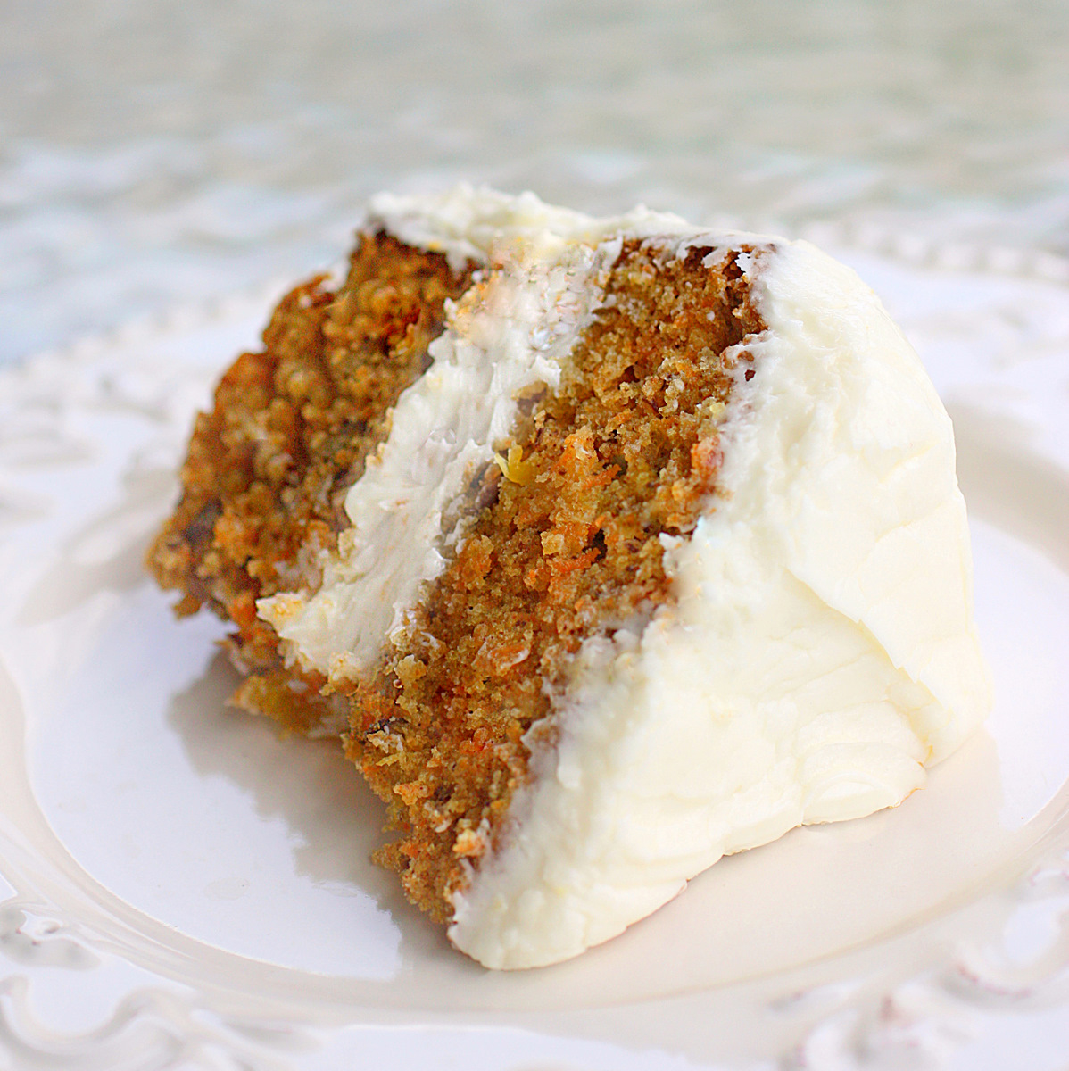 Carrot Cake for Easter - super moist and perfect! the-girl-who-ate ...