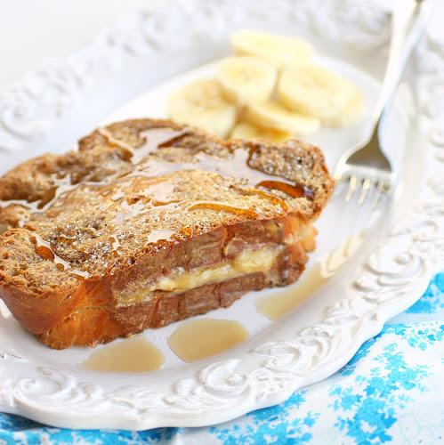 Banana Stuffed French Toast