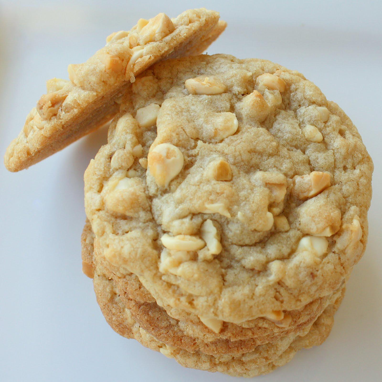 White Chocolate Macadamia Nut Cookies - The Girl Who Ate