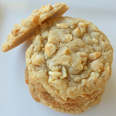 White Chocolate Macadamia Nut Cookies - The Girl Who Ate Everything