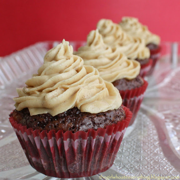 Brownie Bites with Fluffy Peanut Butter Frosting - The ...