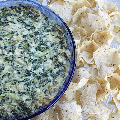 Hot Artichoke and Spinach Dip | The Girl Who Ate Everything