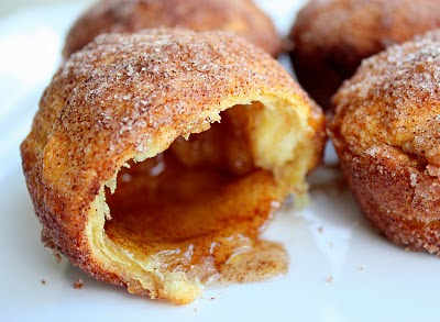 Empty Tomb Rolls or Marshmallow Delights - easy cinnamon sugar rolls with a melting marshmallow inside. the-girl-who-ate-everything.com