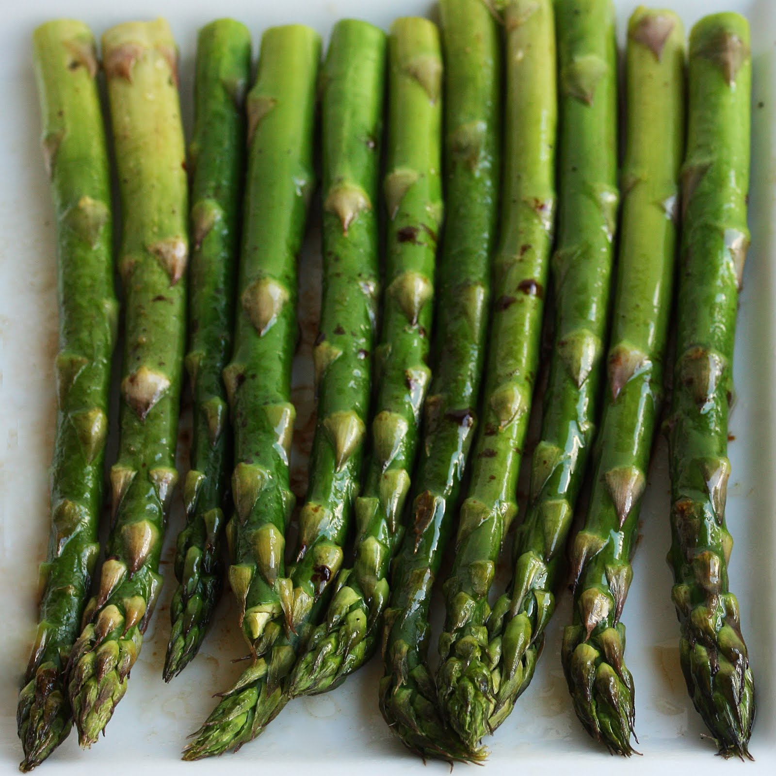 Roasted Asparagus with Balsamic Browned Butter - The Girl Who Ate ...