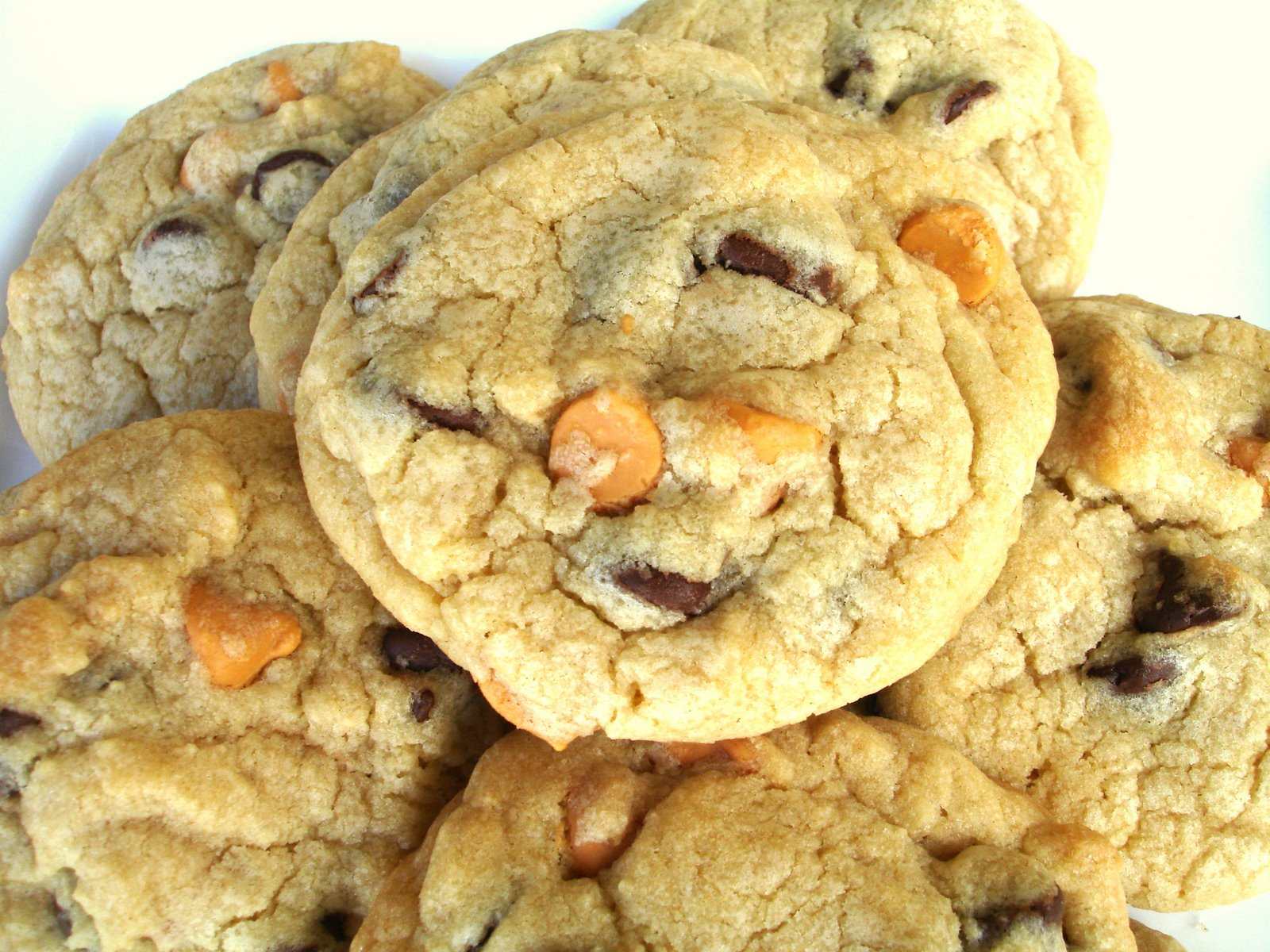 Chocolate Butterscotch-Chip Cookies Recipe — Dishmaps