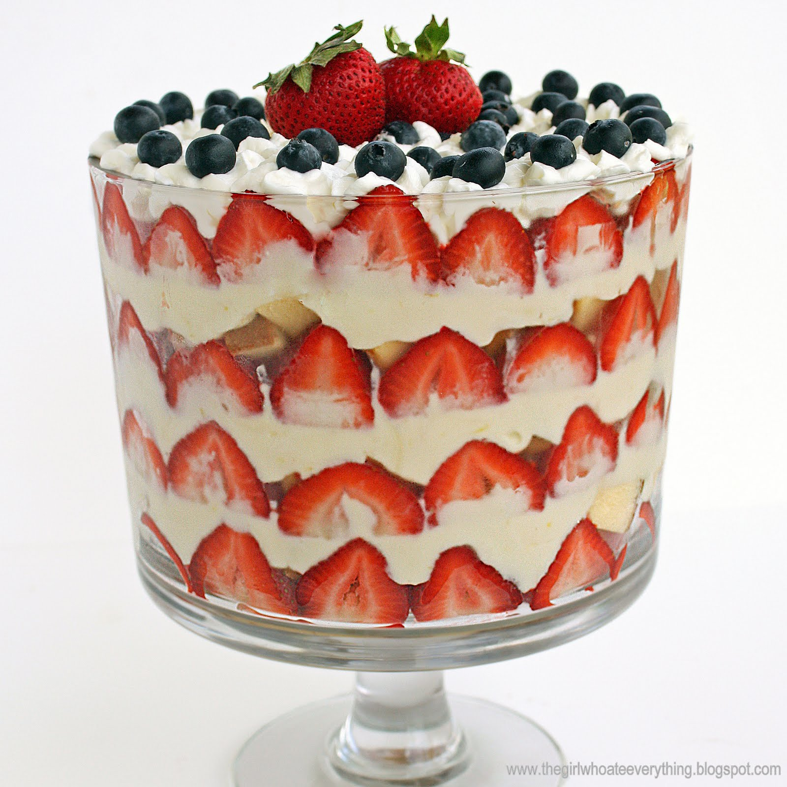 Patriotic Trifle Recipe The Girl Who Ate Everything