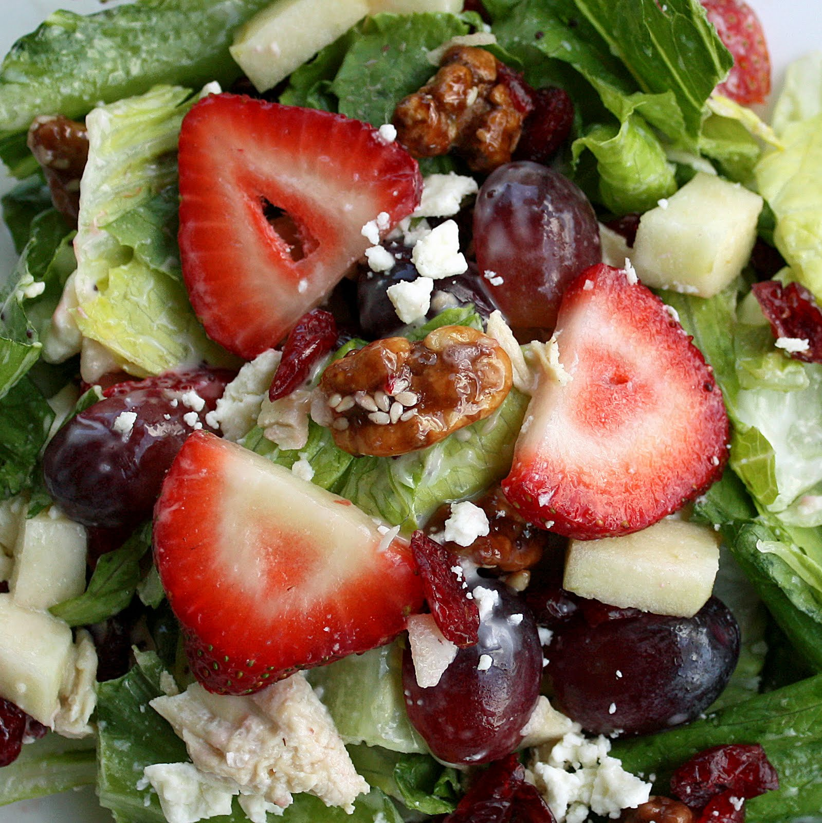 Chick Food...Fruit and Nut Salad - The Girl Who Ate Everything