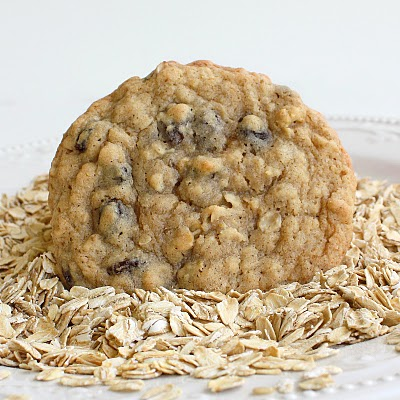 Chewy Oatmeal Raisin Cookies - perfect in every way.