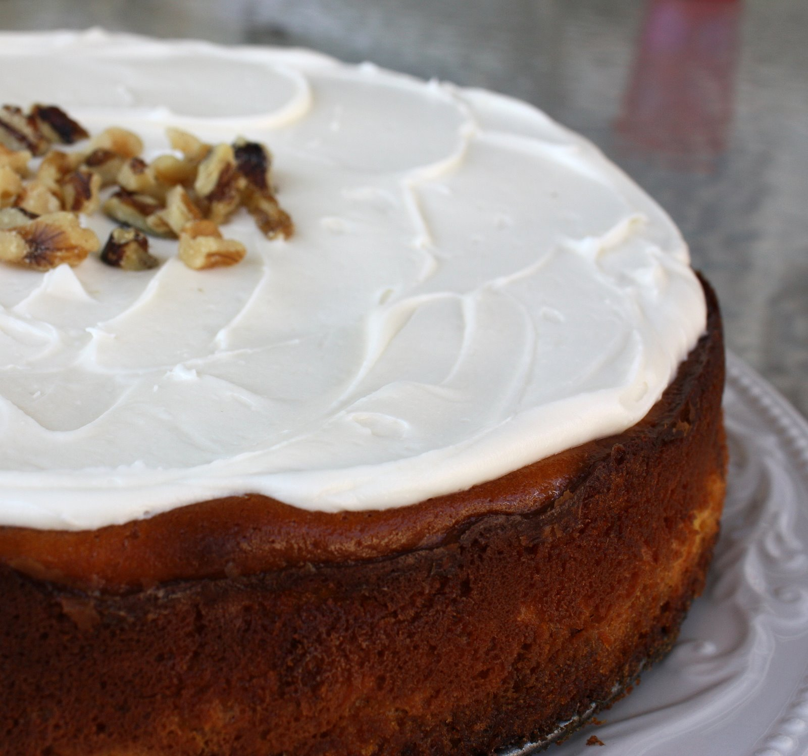 Cheesecake Factory Carrot Cake Cheesecake - The Girl Who Ate Everything