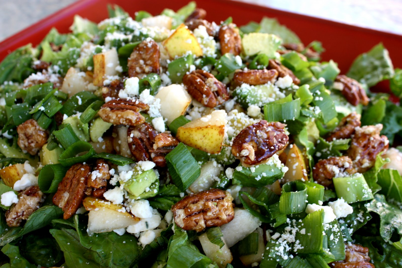 Roquefort Pear Salad The Girl Who Ate Everything